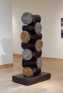 "Witness, 2005, basalt, 78""h x 30""w x 24""d"