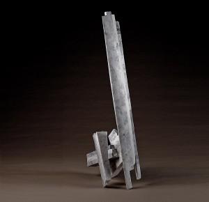 """Lean, 1987, Marble, 78""""h x 30""""w x 24""""d"""